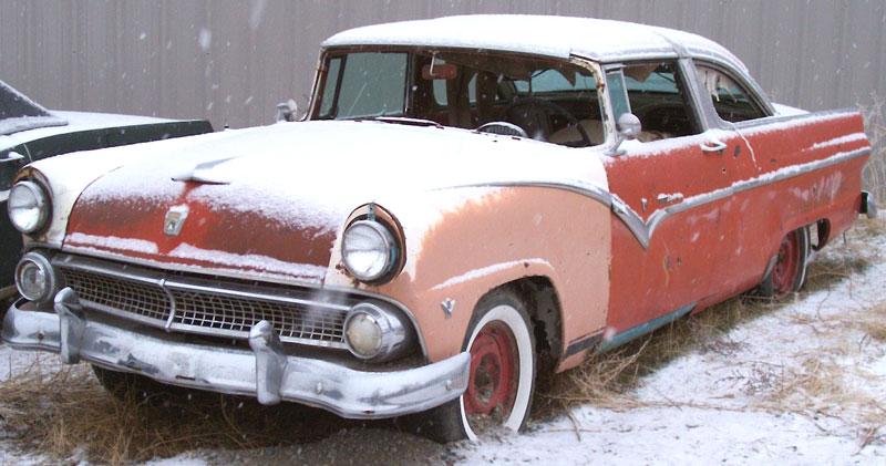 1955 Ford Fairlane Crown Victoria 2 Door Hardtop Clone For Sale
