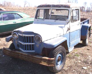 1956 willys jeep 1 2 ton 4x4 pickup for sale. Black Bedroom Furniture Sets. Home Design Ideas