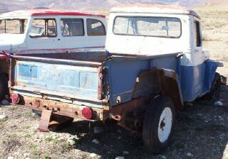 1956 Willys Jeep 1/2 Ton 4X4 Pickup For Sale