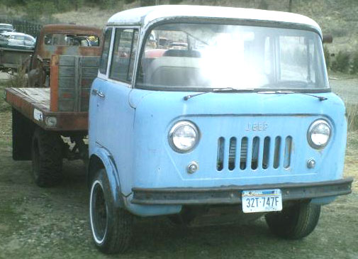 1962 Willys Jeep Fc 170 One Ton Forward Control Flatbed For Sale