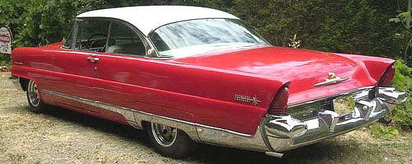 1956 lincoln premiere 2 door hardtop sport coupe for sale. Black Bedroom Furniture Sets. Home Design Ideas