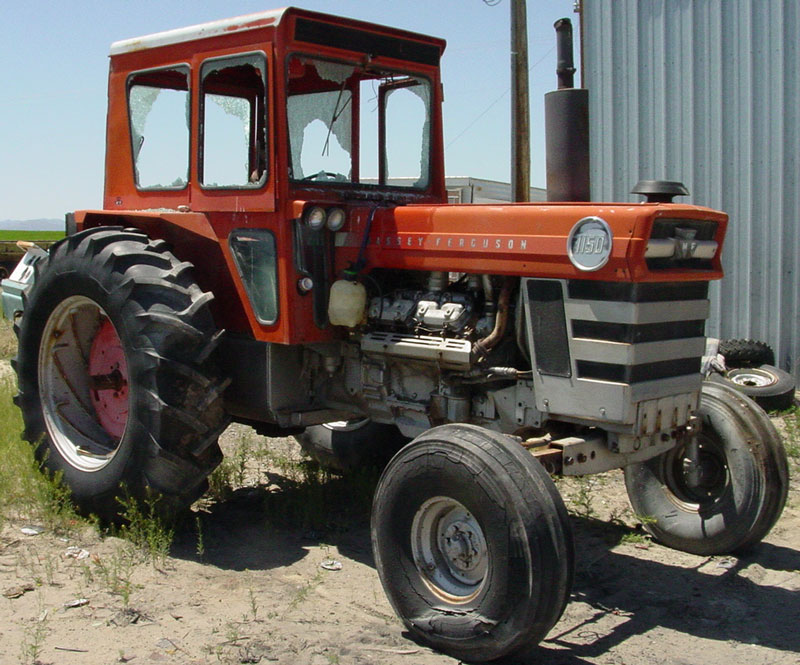 1970 Massey-Ferguson Model 1150 Diesel V-8 Farm Tractor For Sale