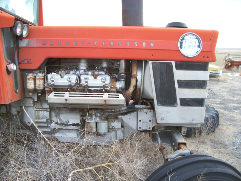 1970 Massey-Ferguson Model 1150 Diesel V-8 Farm Tractor For Sale