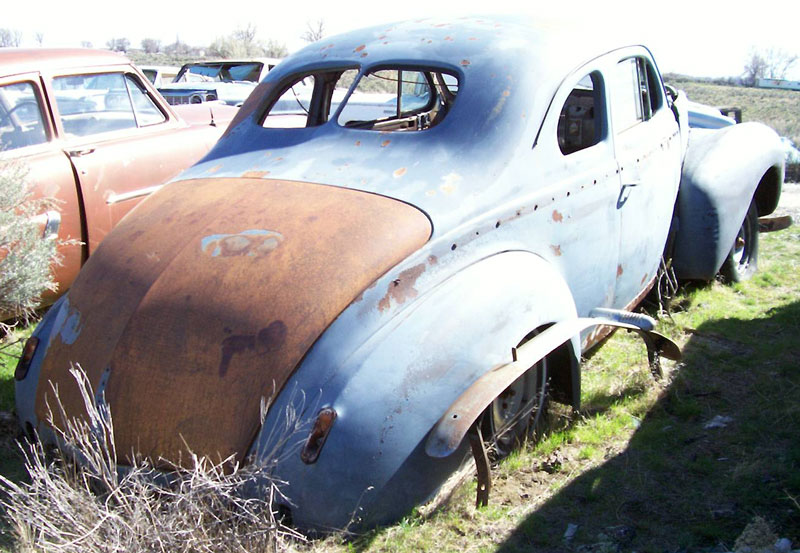1940 Nash 4020 Six 5 Window Coupe For Sale