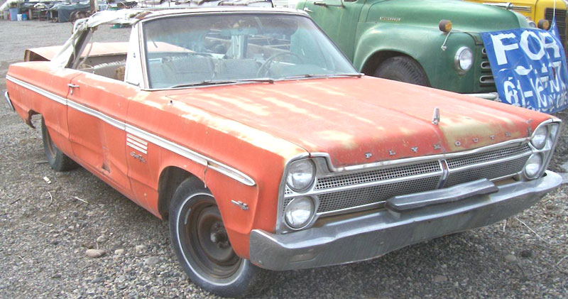 1965 plymouth sport fury convertible for sale