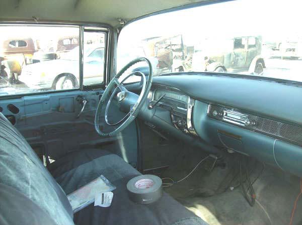 1955 Cadillac Series 60 Special Fleetwood 4 Door Sedan For Sale
