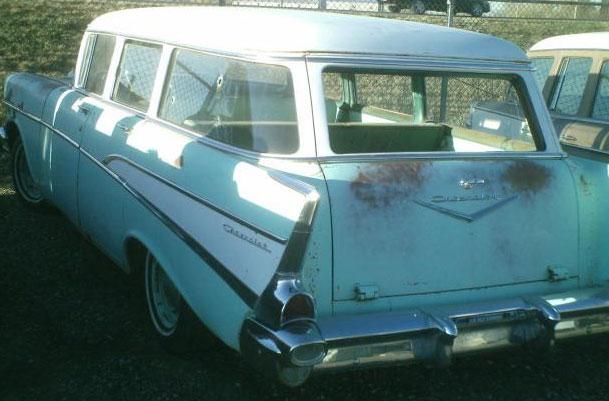 1957 Chevrolet Two Ten 210 4 Door Station Wagon For Sale