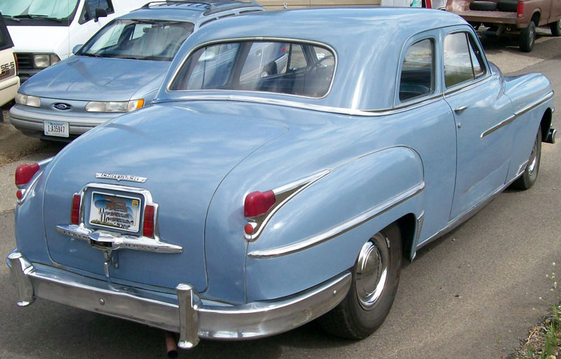 1949 Chrysler New Yorker 2 Door Club Coupe For Sale