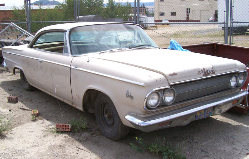 1963 Dodge Custom 880 2 Door Hardtop For Sale