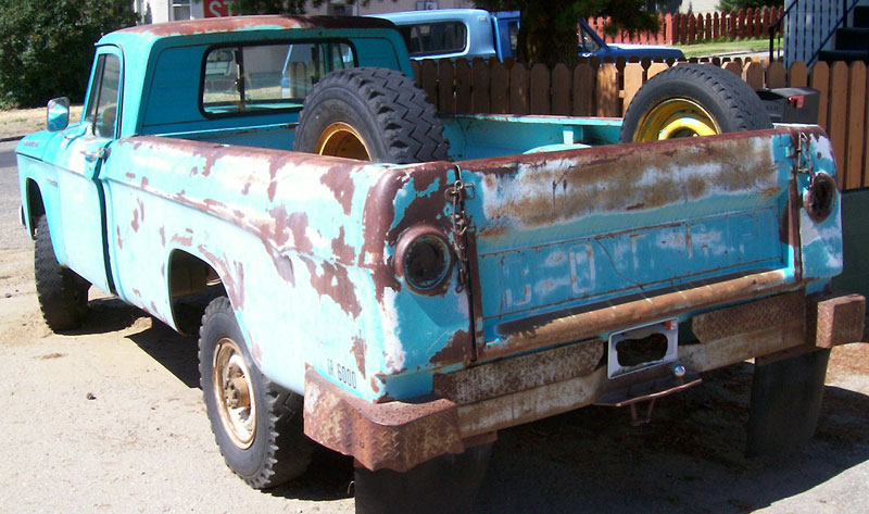 1964 Dodge 3/4 Ton 4X4 Power Wagon Pickup Truck For Sale