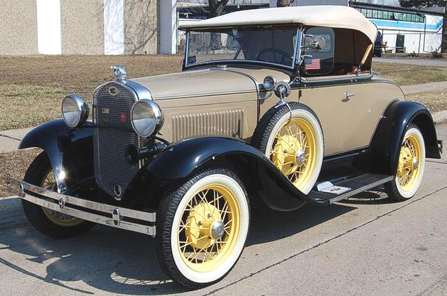 1931 ford model a deluxe roadster with rumble seat for sale. Black Bedroom Furniture Sets. Home Design Ideas