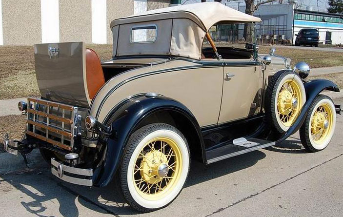 1931 Ford Model A Deluxe Roadster With Rumble Seat For Sale