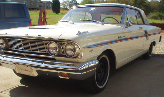 1964 Ford Fairlane 500 V-8 Sport Coupe 2 Door Hardtop For Sale