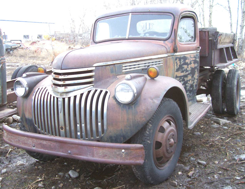 1942 Chevrolet 2 Ton Dump Truck With Anthony Bed For Sale