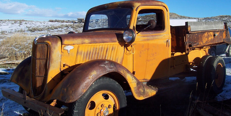 Snow Plow Truck For Sale >> 1936 Ford Model 51 1 1/2 Ton Dump Truck For Sale