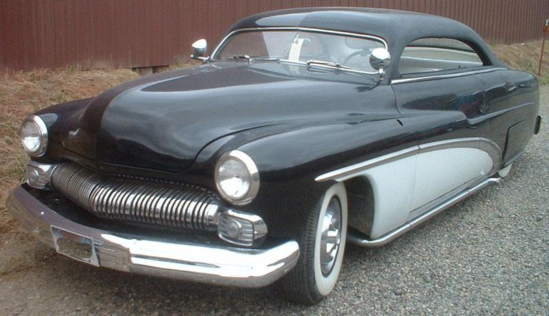 1950 mercury 2 door hardtop custom lead sled for sale for 1950 mercury 4 door for sale