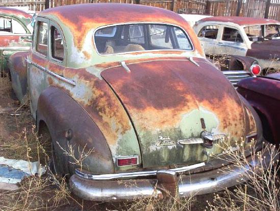 1947 Nash Ambassador Series 60 4 Door Sedan For Sale