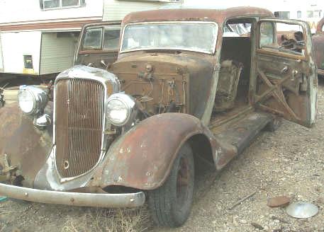 1934 Plymouth Pe Deluxe Suicide 2 Door Sedan For Sale