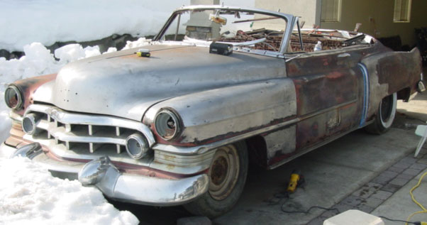 1950 Cadillac Series 62 Convertible Coupe For Sale