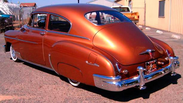 1950 Chevrolet Fleetline Deluxe 2 Door Fastback Sedan For Sale
