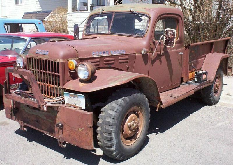 dodge c series truck