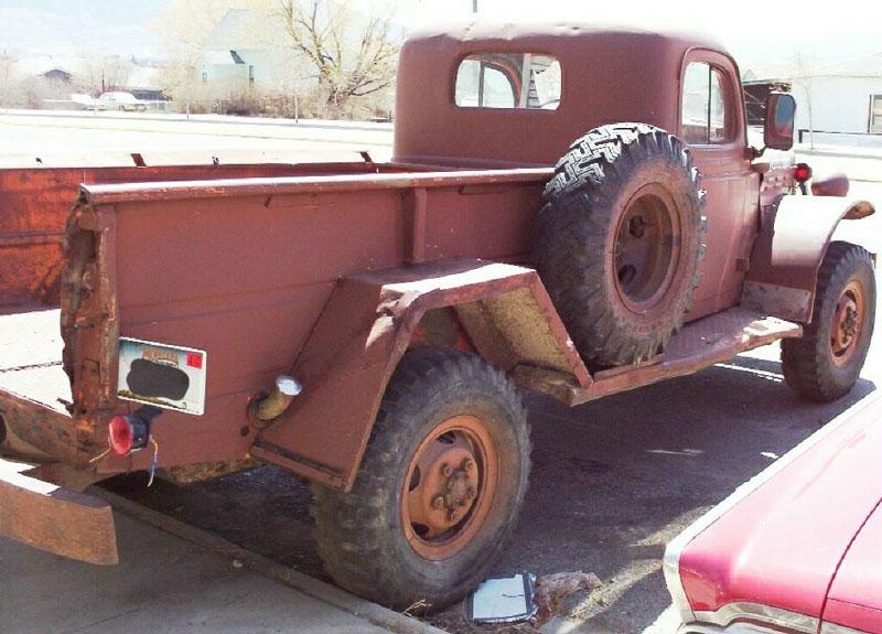 1955 dodge c 3 series 4x4 power wagon 1 ton pickup for sale