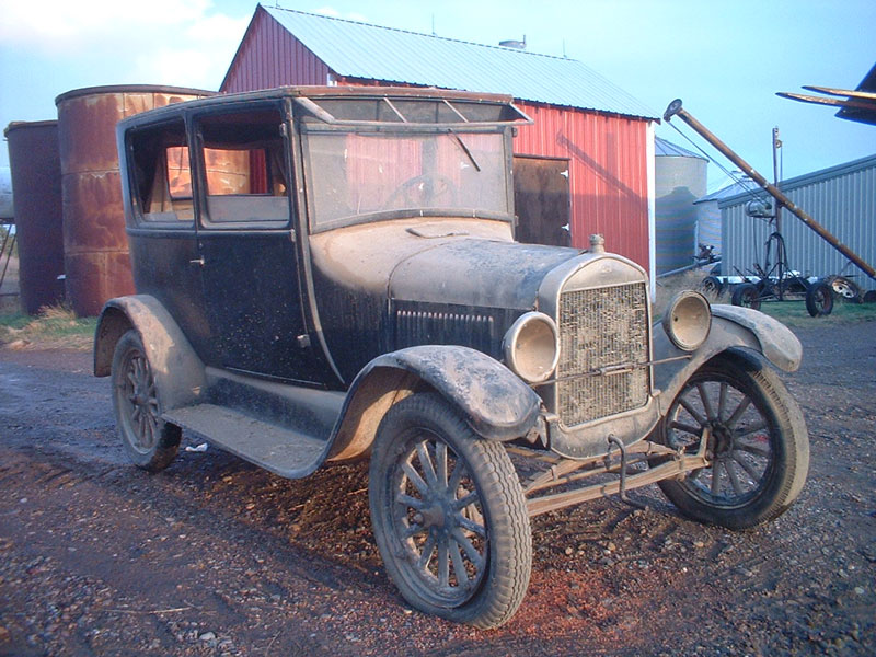 1926 Ford Model T Canadian Tudor Sedan For Sale
