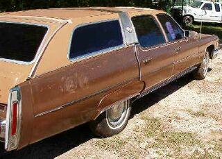 1976 cadillac fleetwood castilian 6 passenger station wagon for sale. Black Bedroom Furniture Sets. Home Design Ideas