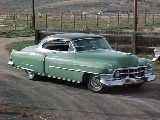 1952 Cadillac Series 62 2 Door Hardtop For Sale
