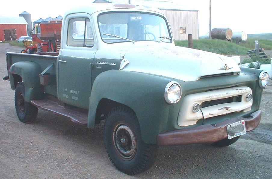 1957 ihc international s120 lwb 34 ton 4 x4 pickup truck