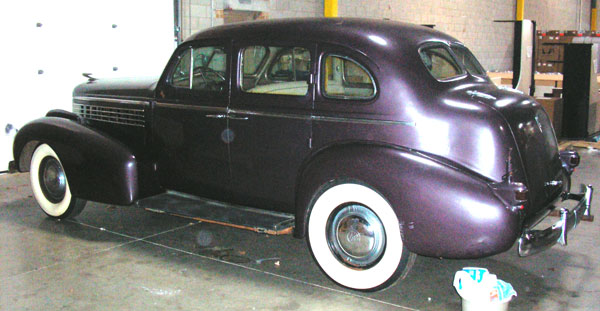 1938 LaSalle Series 3850 Eight 4 Door Sedan For Sale