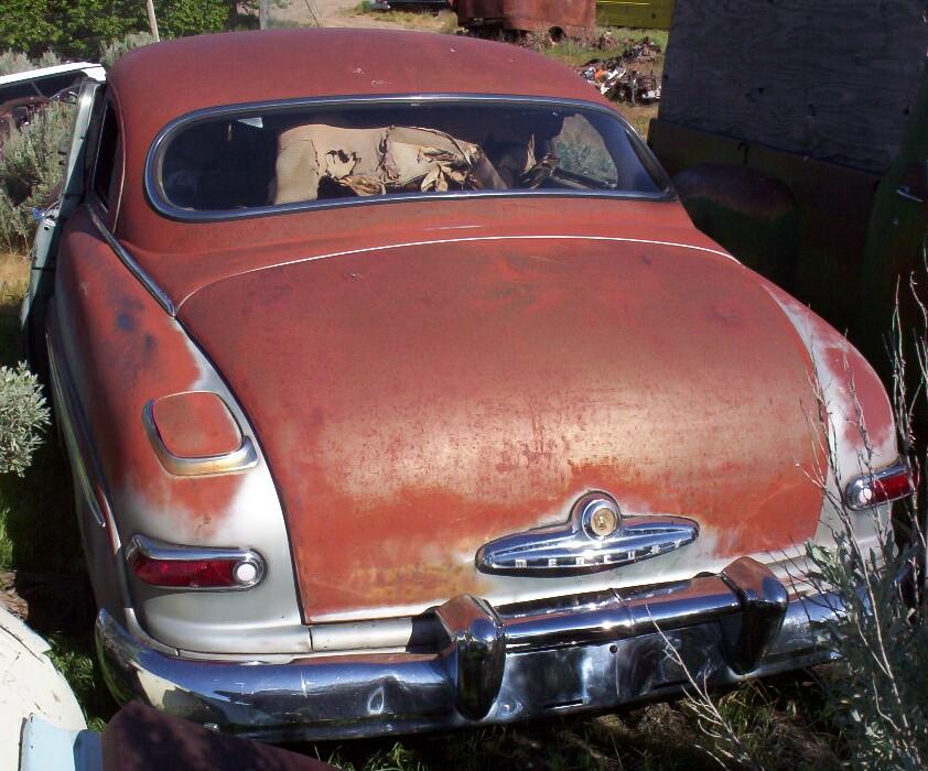 1949 Mercury Series 9cm 2 Door Coupe Left Rear View