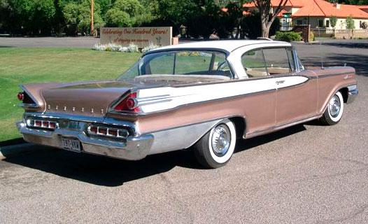 Desert Classics1959 Mercury Park Lane 2 Door Hardtop Coupe For Sale