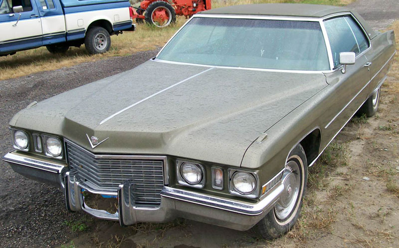 1972 Cadillac Series 683 Coupe DeVille 2 Door Hardtop For Sale