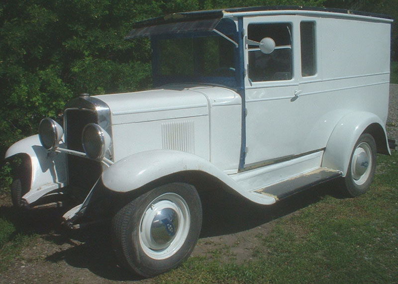 1930 Chevrolet Model CB 12 Ton Panel Delivery Truck For Sale
