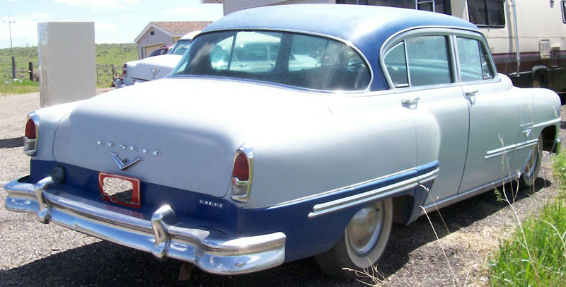 1953 Desoto Firedome 4 Door Sedan Hemi V 8 For Sale
