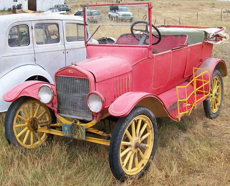 1920 Ford Model T 3 Door 5 Passenger Touring Car For Sale