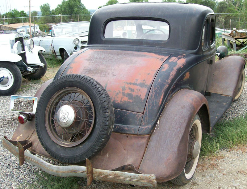 1934 Ford Model 40 Eight 5 Window Coupe For Sale