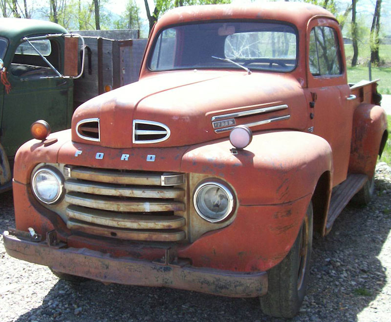 1950 ford f 3 heavy duty 3 4 ton v 8 pickup truck for sale. Black Bedroom Furniture Sets. Home Design Ideas