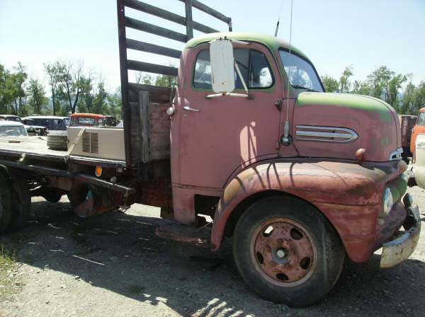 1951 Ford F 5 Coe Cab Over Engine Flatbed Truck For Sale