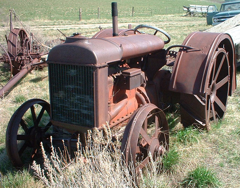 Ford Model F Tractor : Restored original and restorable fordson ford farm