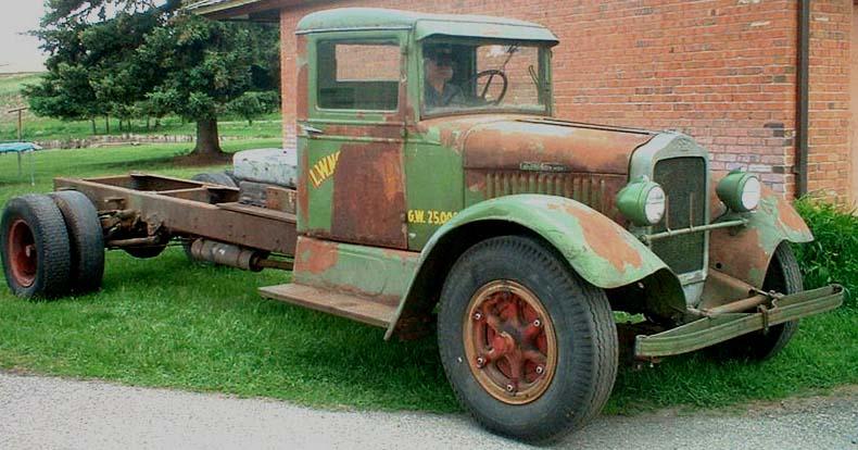 Commercial vintage lorries