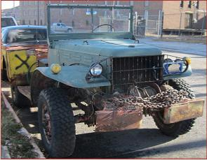 Go to 1942 Dodge WC-52 4X4 Weapons Carrier with 1944 Dodge WC-51 parts truck for sale $10,000