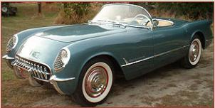 Go to 1954 Chevrolet Corvette roadster convertible for sale $62,000