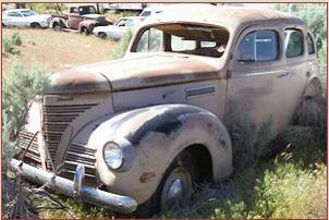 Go to 1939 Plymouth Deluxe Model P8 - Six 4 door sedan for sale $3,500