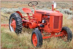 Go to 1948 Cas Model VAC farm tractor with Eagle hitch for sale $3,500