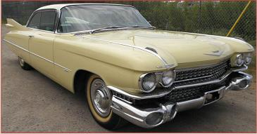 Go to 1959 Cadillac Series 62 two door hardtop exquisite low miles all original survivor for sale $65,000 right front view