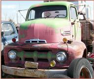 1951 Ford F-5 COE Cab-Over-Engine Flatbed Truck For Sale $2,500 left front view