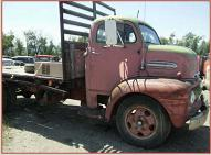 1951 Ford F-5 COE Cab-Over-Engine Flatbed Truck For Sale $2,500 right side view