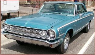 Go to 1964 Dodge 440 two door hardtop, very nice and very fast, 426 CID Wedge V-8, 4 speed, posi-traction for sale $45,000